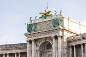 New Hofburg Imperial Palace, Vienna, Austria — Stock Photo