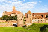 Malbork Castle, Pomerania, Poland — Stockfoto