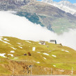 Alps landscape near Andermatt, canton Graubunden, Switzerland — Foto de Stock