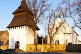 église et le clocher dans bily ujezd, république tchèque — Photo
