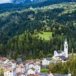 Stock Photo: Tiefencastel, canton Graubunden, Switzerland