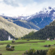 Stock Photo: Alps landscape near Filisur, canton Graubunden, Switzerland