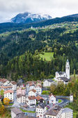 Tiefencastel, canton Graubunden, Switzerland — Stock Photo