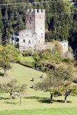 Ruins of Sils Castle, canton Graubunden, Switzerland — Stock Photo