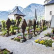 Stock Photo: Graveyard in Hallstatt