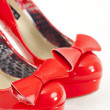 Stock Photo: Red pumps