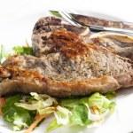 Grilled T-bone steak — Stock Photo #41496011