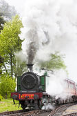 Steam train — Stok fotoğraf