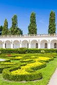 Flor jardim do palácio de kromeriz — Fotografia Stock