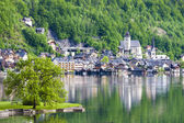 Hallstatt town — Stock Photo