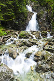 Nefcersky waterfall — Stock Photo