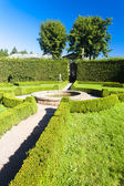 Palace garden in Nachod — Stock Photo