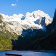 View at Dachstein from Vorder-Gosausee lake — Stock Photo #42000649