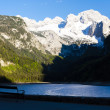 View at Dachstein from Vorder-Gosausee lake — Stock Photo #42179875