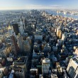 Stock Photo: Manhattfrom Empire State Building