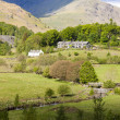Landscape of Lake District — Stock Photo
