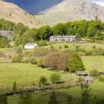 Landscape of Lake District — Stock Photo