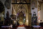 Interior of Church of St. Nicholas — Stock Photo