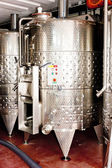Controlled fermentation in winery — Stock Photo