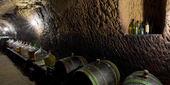 Wine cellar, Chvalovice, Czech Republic — Stock Photo