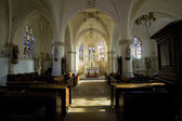 Interior of church Notre-Dame-en-sa-Nativite — Stock Photo