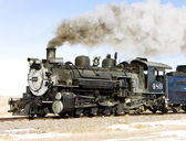 Cumbres and Toltec Narrow Gauge Railroad — Stock Photo