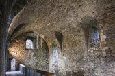 Interior of Dundonald Castle — Stock Photo