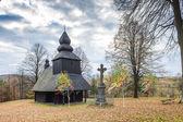 église en bois — Photo