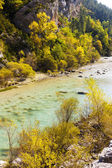 Valley of river Verdon in autumn — Stockfoto