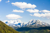 View to Dachstein from the west — Stock Photo
