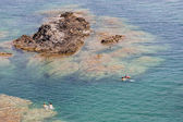 Snorkeling at Cap de Peyrefite, Languedoc-Roussillon — Stock Photo