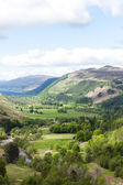 View of valley with Loch Broom — Stock Photo