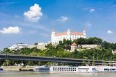 斯洛伐克布拉迪斯拉城堡 — 图库照片