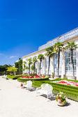 Jardín de flores de kromeriz Palacio — Foto de Stock