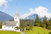 Versam, canton Graubunden, Switzerland — Stock Photo