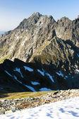 Вышне koprovske седло, Высоке Татры (Высокие Татры), Словакия — Стоковое фото