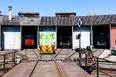 Depot in Jaromer — Stock Photo