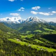 Dachstein from the west — Stock Photo