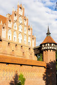 Malbork Castle, Pomerania, Poland — Stock Photo