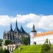 Cathedral of St. Barbara and Jesuit College, Kutna Hora, Czech R — Stockfoto #45848473