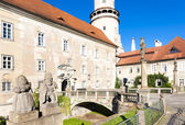 Castle of Nove Mesto nad Metuji, Czech Republic — Stock Photo