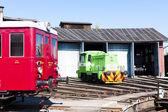 Depot in Jaromer, Czech Republic — Stock Photo