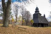 Wooden church, Ruska Bystra, Slovakia — Stock Photo