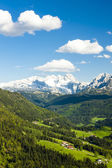 View to Dachstein from the west, Upper Austria-Styria, Austria — Stock Photo