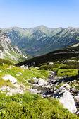 Hlinska Valley, Vysoke Tatry (High Tatras), Slovakia — Stock Photo
