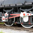 Detail of steam locomotive — Stock Photo #4649648