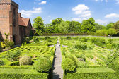 Garden of Hatfield House — Stok fotoğraf