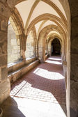 Cloister of monastery — Stock Photo