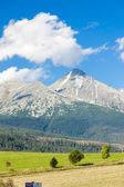 Krivan Mountain — Stock Photo