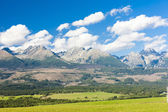 Western part of Vysoke Tatry — Stock Photo